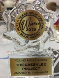 1st Place Young Adult Book Award Greenlee NTBF