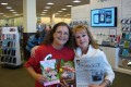 Amanda M. Thrasher and Beverly Hutton at Barnes and Noble.