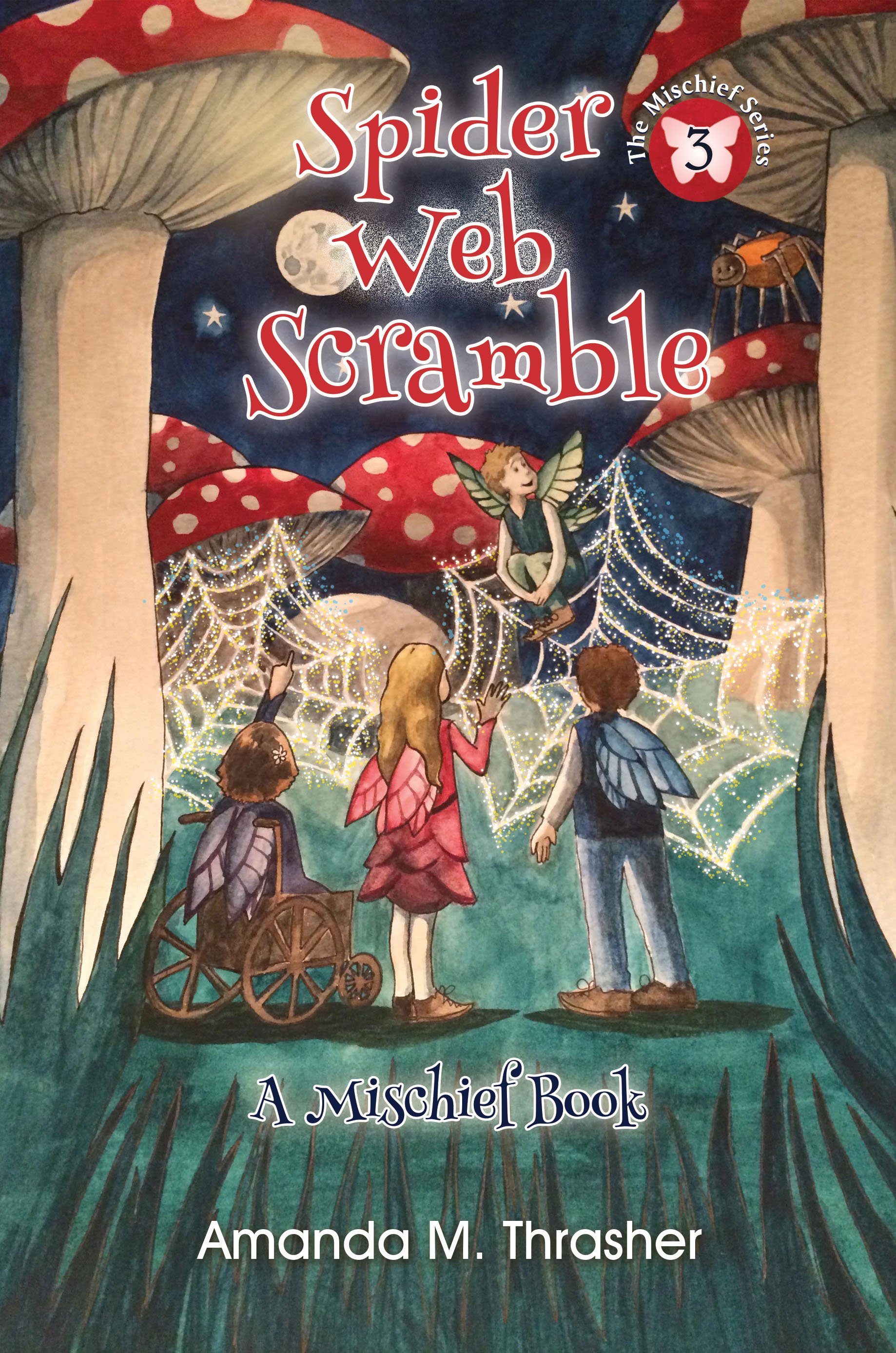 Spider Web Scramble Amanda M. Thrasher